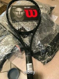 Wilson RF97 Autograph Pro Staff BLACK tennis racket 4 1/4 grip Black