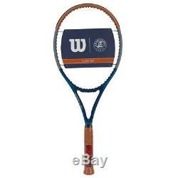 Wilson Roland Garros Clash 100 Tennis Racquet 4 1/4 Special Edition NEW