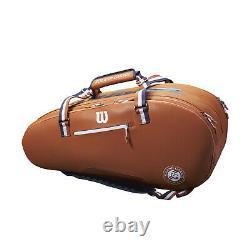 Wilson Roland Garros Tour 12 Pack Tennis Racquet Bag