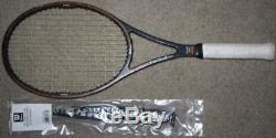 Wilson Tennis Pro Staff Racket 85 4 1/2 Tennis Strung