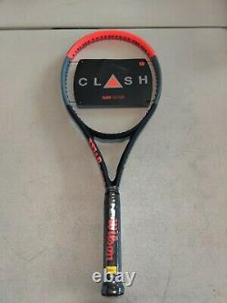Wilson Tennis Racket Clash 100 Tour Grip 4 3/8