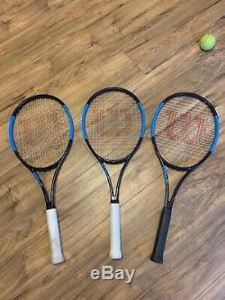 Wilson Ultra Tour Tennis Racket x 3 Grip 4 3/8