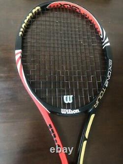 Wilson blx six-one tour 90 Federer 4 3/8 grip Tennis Racquet