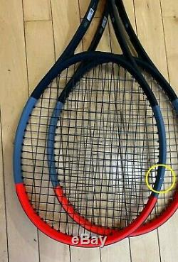 Wilson clash 100 tour 4 1/2 (one racket)
