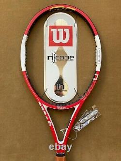 Wilson nCode Six One 6.1 Tour 90 Federer Pro Staff Tennis Racquet 4 1/2 L4 NEW