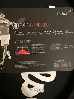 Wilson pro staff 97 rf autograph
