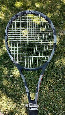 Wilson pro staff 97L Countervail Camo Tennis Racquet. 4 1/8 Grip Size