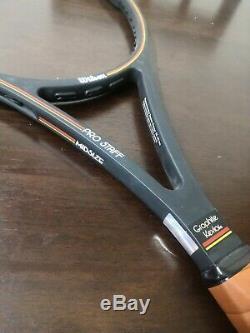 Wilson st. Vincent pro staff 85 excellent condition 4 1/4 grip Tennis Racquet